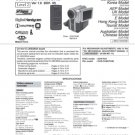 Sony DCRPC9 (DCR-PC9) (DCRPC-9) Camcorder Service Manual