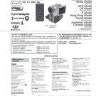 Sony DCRPC9E (DCR-PC9E) (DCRPC-9E) Camcorder Service Manual