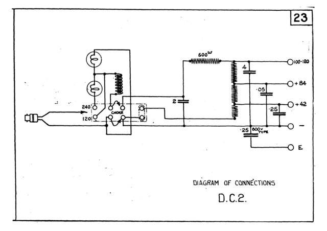 marconi dc2 dc 2 power supply circuit diagram schematics. Black Bedroom Furniture Sets. Home Design Ideas