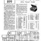 Marconi P20B (P-20B) Radio Service Sheets Schematics Set