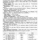 Marconi T10AW (T-10AW) Radio Service Sheets Schematics Set
