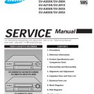 Samsung SV-200X Video Recorder Service Manual