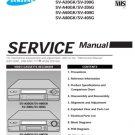 Samsung SV-205G Video Recorder Service Manual