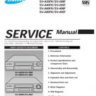 Samsung SV-405F Video Recorder Service Manual