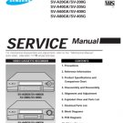 Samsung SV-A20GK Video Recorder Service Manual