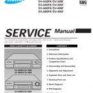 Samsung SV-A60FK Video Recorder Service Manual