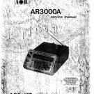 AOR AR3000A (AR-3000A) Scanner Workshop Service Manual