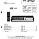 Fisher FVHP300S (FVH-P300S) (FVHP-300S) Video Recorder Service Manual