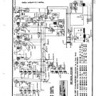 Hallicrafters Super Skyrider S11 (S-11) 1937 Early and Late Circuit Schematics Diagram Set Receiver