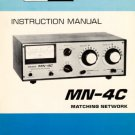 Drake MN2000 (MN-2000) Matching Network Instructions Operating Schematics etc