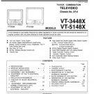 Sharp VT3448X (VT-3448X) Television Video Workshop Service Manual