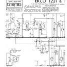 Ekco T221 (T-221) Television Service Sheets Schematics etc