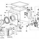 Hoover A2854 (A-2854) Washing Machine Workshop Service Manual