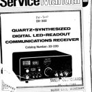 Radio Shack DX300 (DX-300) Receiver Service Manual