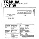 Toshiba V110B (V-110B) Video Recorder Service Manual