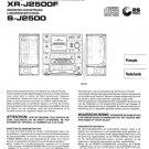 Pioneer XRJ2500F (XR-J2500F) (XRJ-2500F) Service Manual