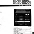 Yamaha EMX2200 (EMX-2200) Mixer Service Manual with Schematics