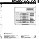 Yamaha EMX300 (EMX-300) Mixer Service Manual with Schematics