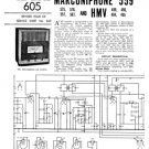 HMV 490 Vintage Wireless Service Sheets Schematics etc