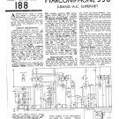 Marconi 556 Vintage Wireless Service Sheets Schematics etc