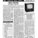 Ekco T331 (T-331) Vintage Television Service Manual