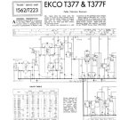 Ekco T377F (T-377F) Vintage Television Service Manual