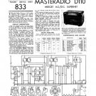 Masteradio D110 (D-110) Service Manual