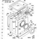 Hoover AS125 (AS-125) Washing Machine Service Manual