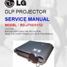 LG RDJT51 (RD-JT51) (RDJT-51) Technical Repair Schematics Circuits Service Manual