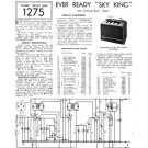 Ever Ready Sky King Service Sheets Schematics Circuits etc