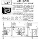 Ever Ready Sky Monarch Service Sheets Schematics Circuits etc