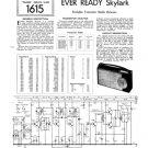Ever Ready Skylark Service Sheets Schematics Circuits etc