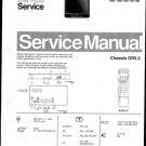Philips 19ST2730 05B 08B 10B 12B 13B 16B Technical Repair Schematics Circuits Service Manual