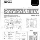 Philips 21SL5756 00B 10B 13B 16B 19B Technical Repair Schematics Circuits Service Manual