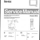 Philips 255962SB 19R Technical Repair Schematics Circuits Service Manual