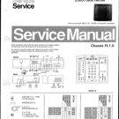 Philips 256275KR 04M 24M Technical Repair Schematics Circuits Service Manual