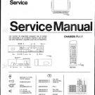 Philips 25ML8305 00B 10B 19B Technical Repair Schematics Circuits Service Manual