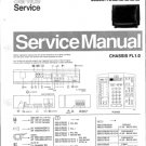 Philips 25SL5766 00B 10B 13B 16B 19B Technical Repair Schematics Circuits Service Manual