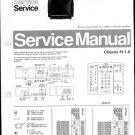 Philips 25SL5766 20B 30B 33B 36B 39B Technical Repair Schematics Circuits Service Manual