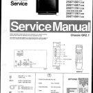 Philips 25ST1761 22B 25B 28B 30B 33B 36B Technical Repair Schematics Circuits Service Manual