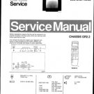 Philips 25ST2454 42B Technical Repair Schematics Circuits Service Manual