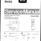 Philips 25ST2751 02B Technical Repair Schematics Circuits Service Manual