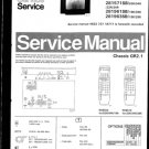 Philips 281571SB 02R 04R 22R 24R Technical Repair Schematics Circuits Service Manual
