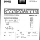 Philips 287342SB 4R Technical Repair Schematics Circuits Service Manual
