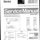 Philips 288861SB 19R 39R Technical Repair Schematics Circuits Service Manual
