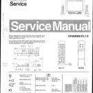 Philips 28ML8765 00B 10B 75B Technical Repair Schematics Circuits Service Manual