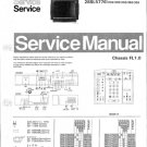 Philips 28SL5776 20S 30S 33S 36S 39S Technical Repair Schematics Circuits Service Manual