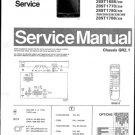 Philips 28ST1686 39B Technical Repair Schematics Circuits Service Manual