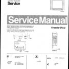 Philips 28ST1734 02B Technical Repair Schematics Circuits Service Manual