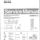 Philips 33PV7906 00B 10B 19B Technical Repair Schematics Circuits Service Manual